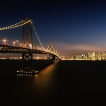San Francisco and the Bay Bridge