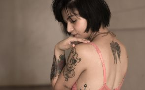 Woman tattoos